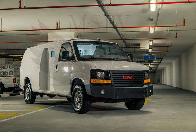 Armoured Van Congo - GMC Savana