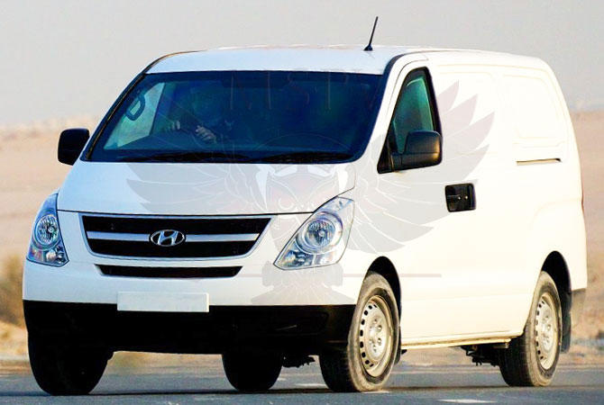 Armoured CIT Vehicle Congo - Hyundai H1