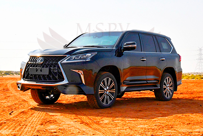 Armoured Vehicle Congo - Lexus LX570