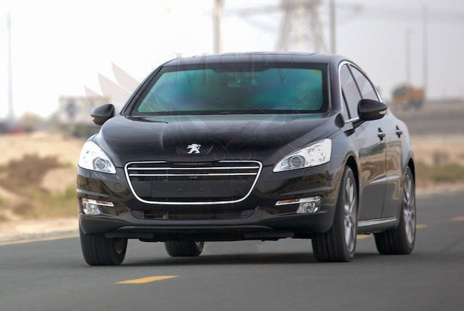 Armoured Cars Congo - Peugeot 508