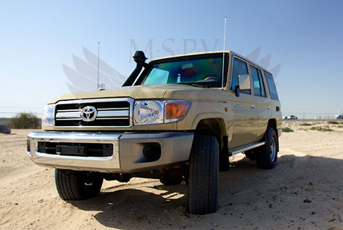 Armoured Toyota Land Cruiser 76 Congo