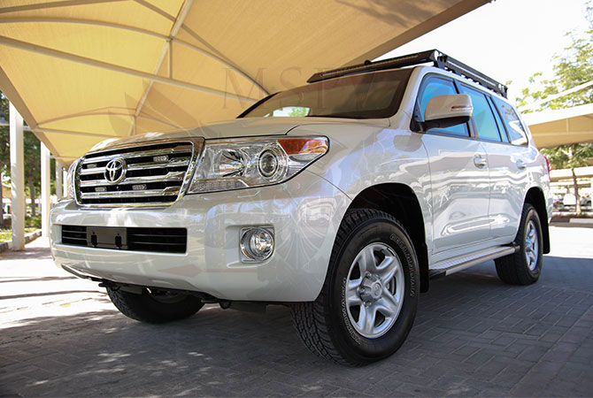 Armoured Toyota Land Cruiser VIP Luxury Congo