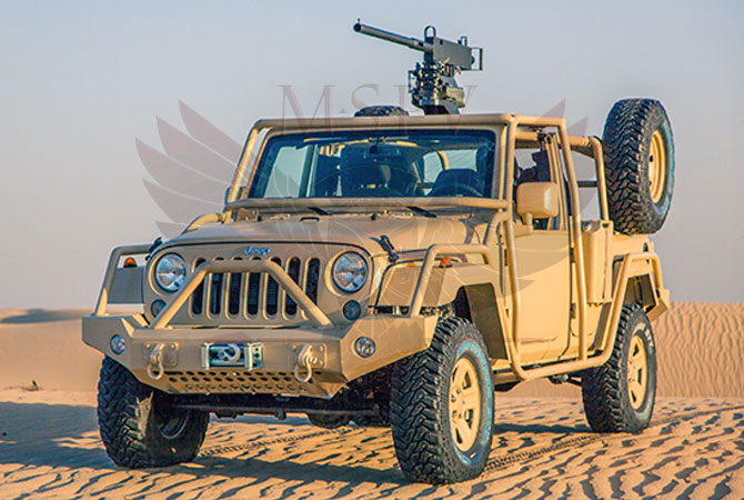 Light Patrol Vehicle Congo - Jeep Wrangler