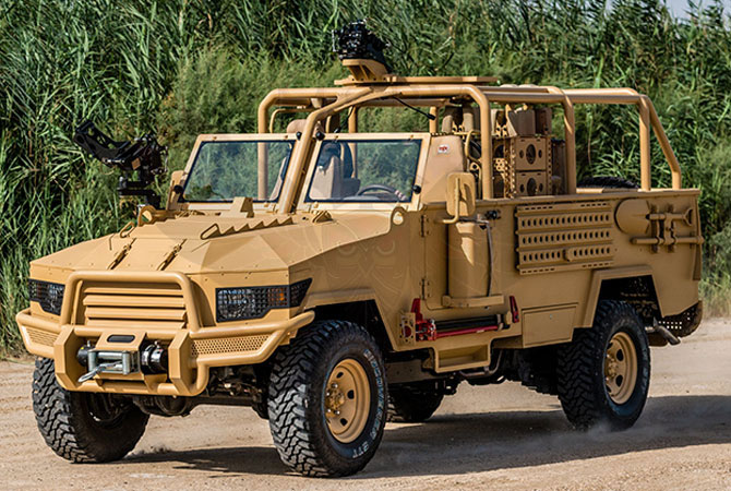 Light Patrol Vehicle Congo - lpv-t-mkII