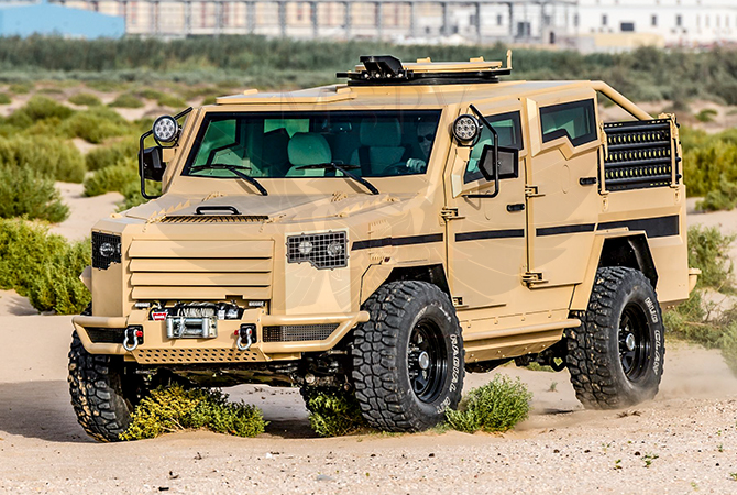 Armoured Patrol Vehicles Congo - Panthera T2V8