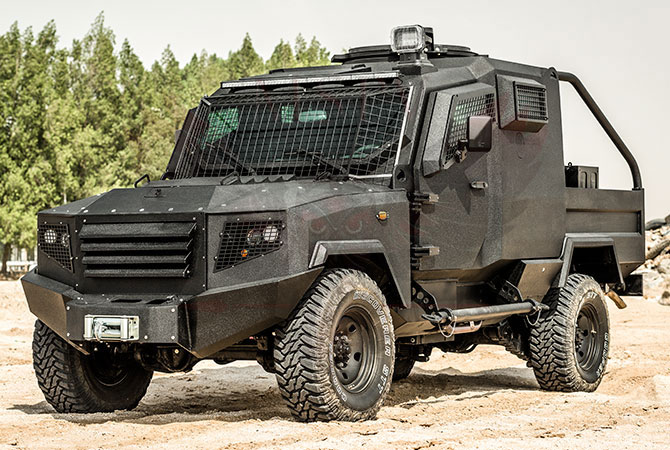 Armoured Patrol Vehicle Congo - panthera-t2