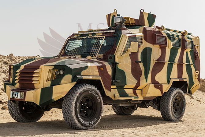 Armoured Personnel Carrier Congo - panthera-t6-3dr