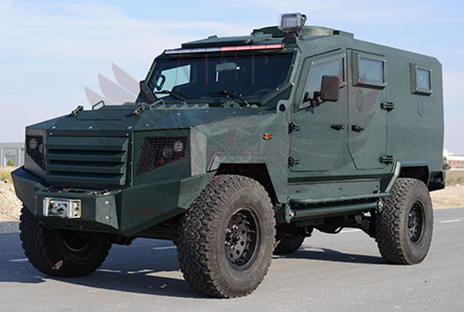 Armoured Patrol Vehicle Congo - panthera-t6-5Dr
