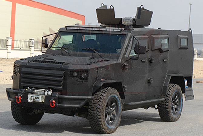 Armoured Patrol Vehicle Congo - panthera-t6-v8