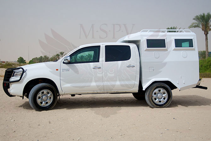 Armoured Troop Carrier Congo - Toyota Hilux