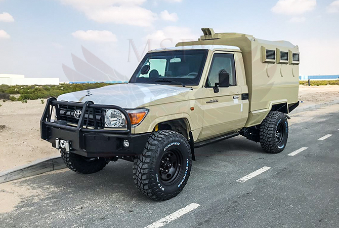 Armoured TLC 79 Gunbox Congo