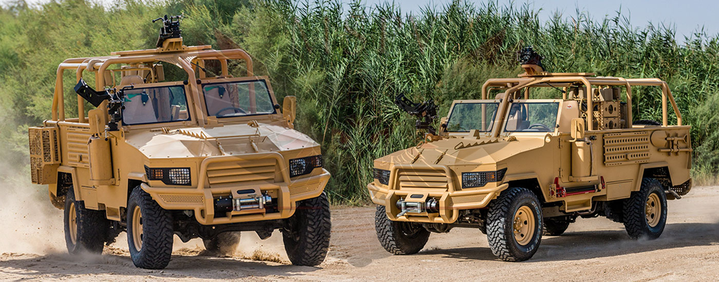 Armoured Light Patrol Vehicles Congo - LPV-T MKII