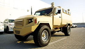 Armoured Miliatry Vehicle Congo